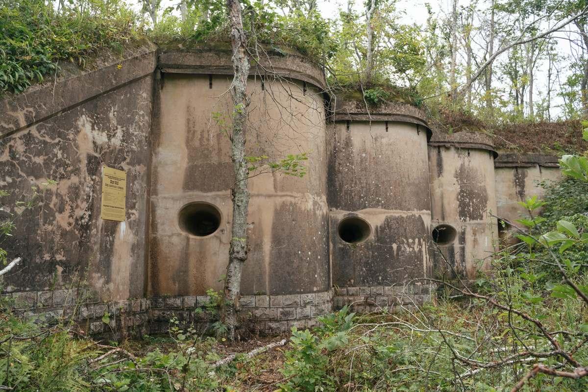 Объекты крепости