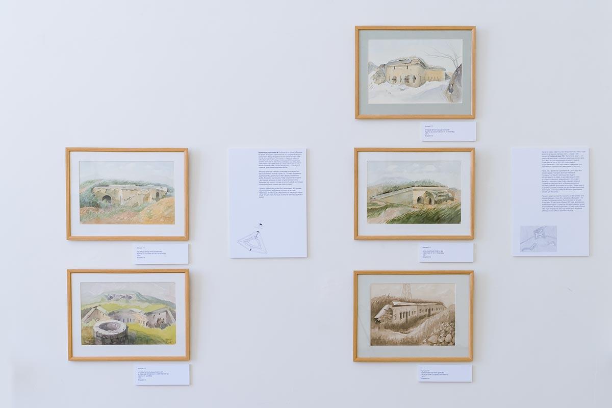 «Владивостокская крепость в акварелях Павла Куянцева»