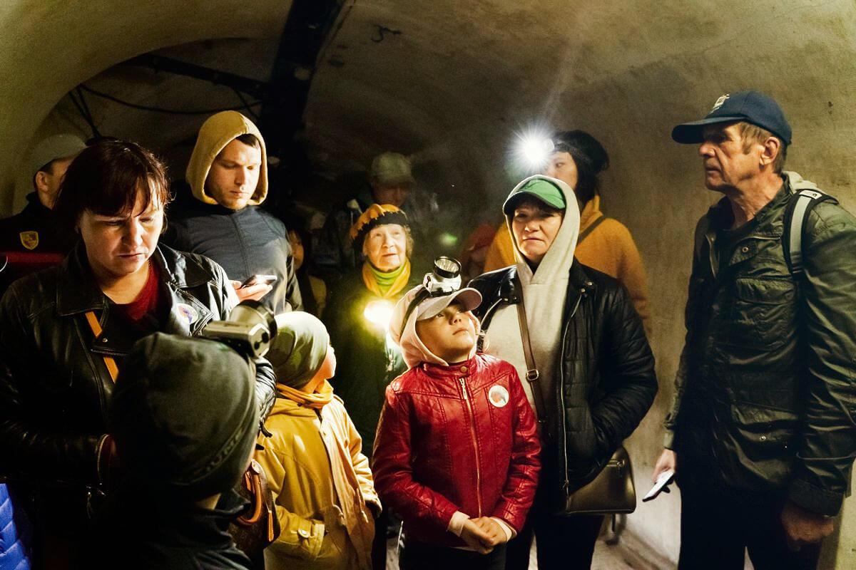 11:00 и 14:30 — пешеходная экскурсия  «Подземелья Форта№1», 12+