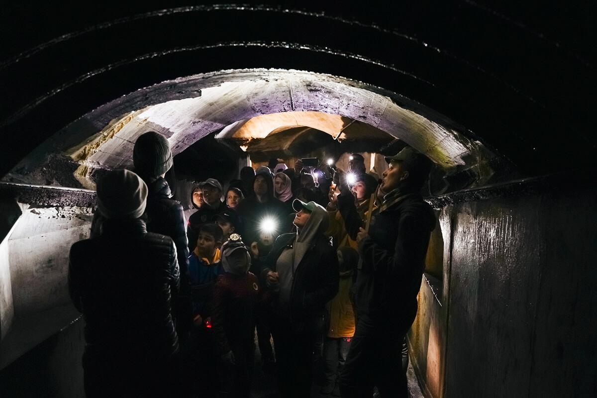 11:00, 14:30 — экскурсия по подземельям Форта № 1