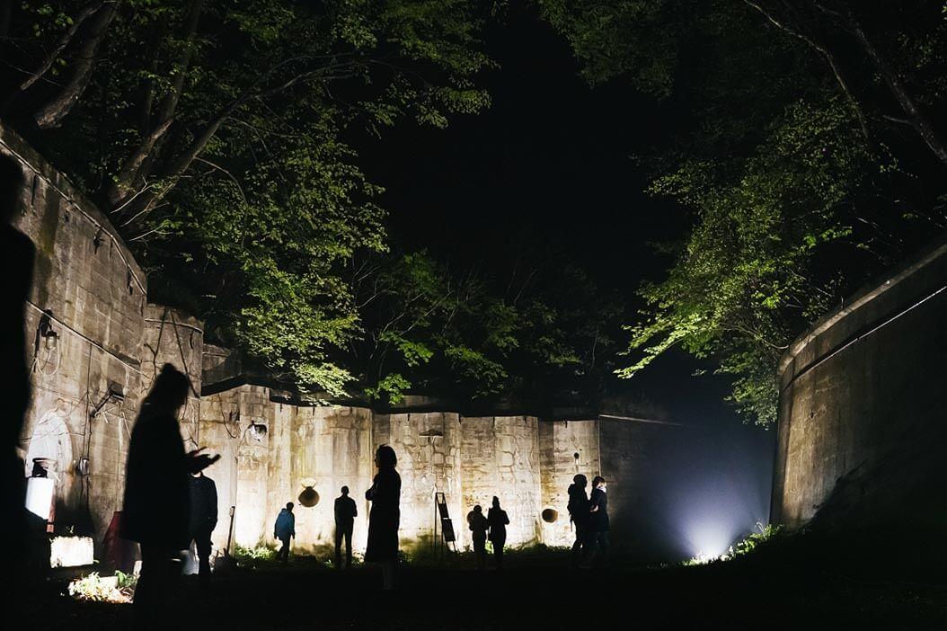 Ночная экскурсия по Форту № 1