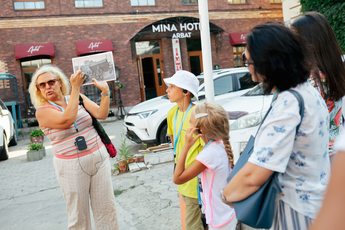 Пешеходная экскурсия <br>«Город в судьбе крепости»
