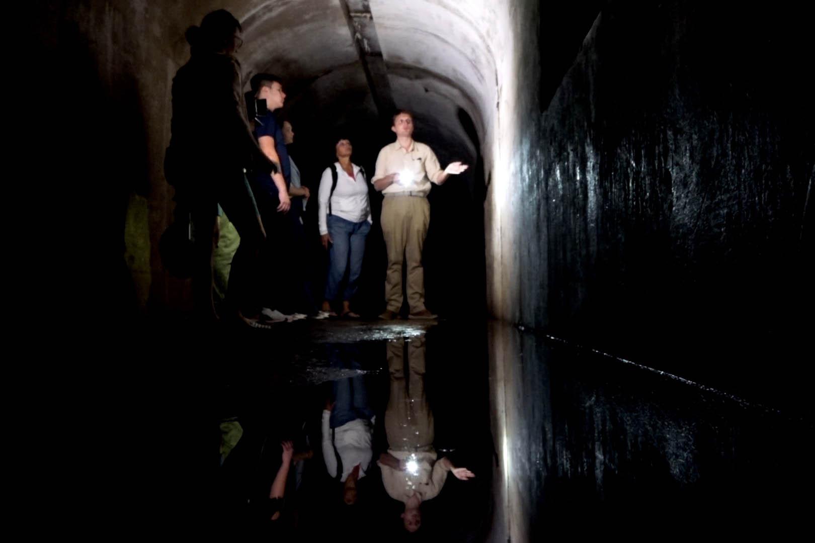 Экскурсия <br>по подземельям Форта№1
