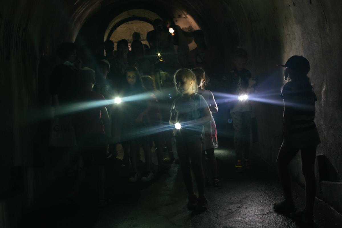 11:00, 14:00 — экскурсия по подземельям Форта № 1