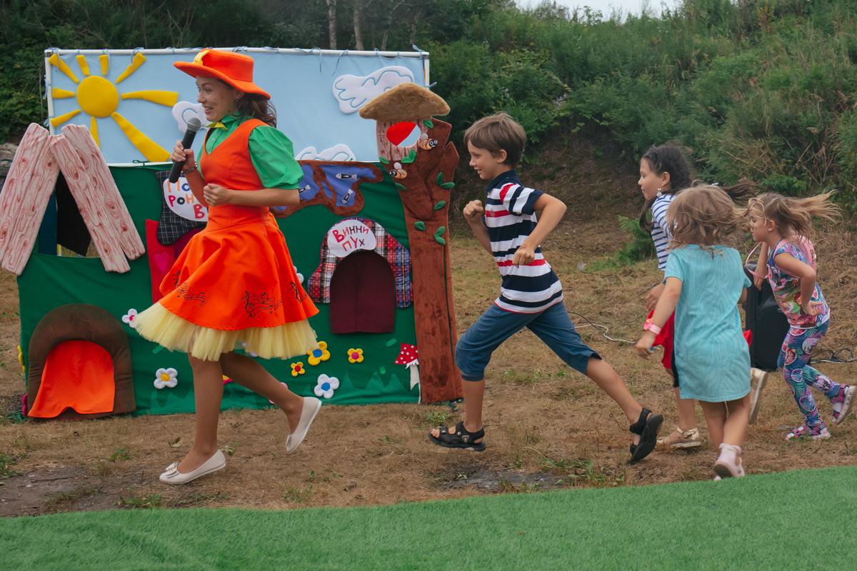 Детский театр <br>в визит-центре крепости