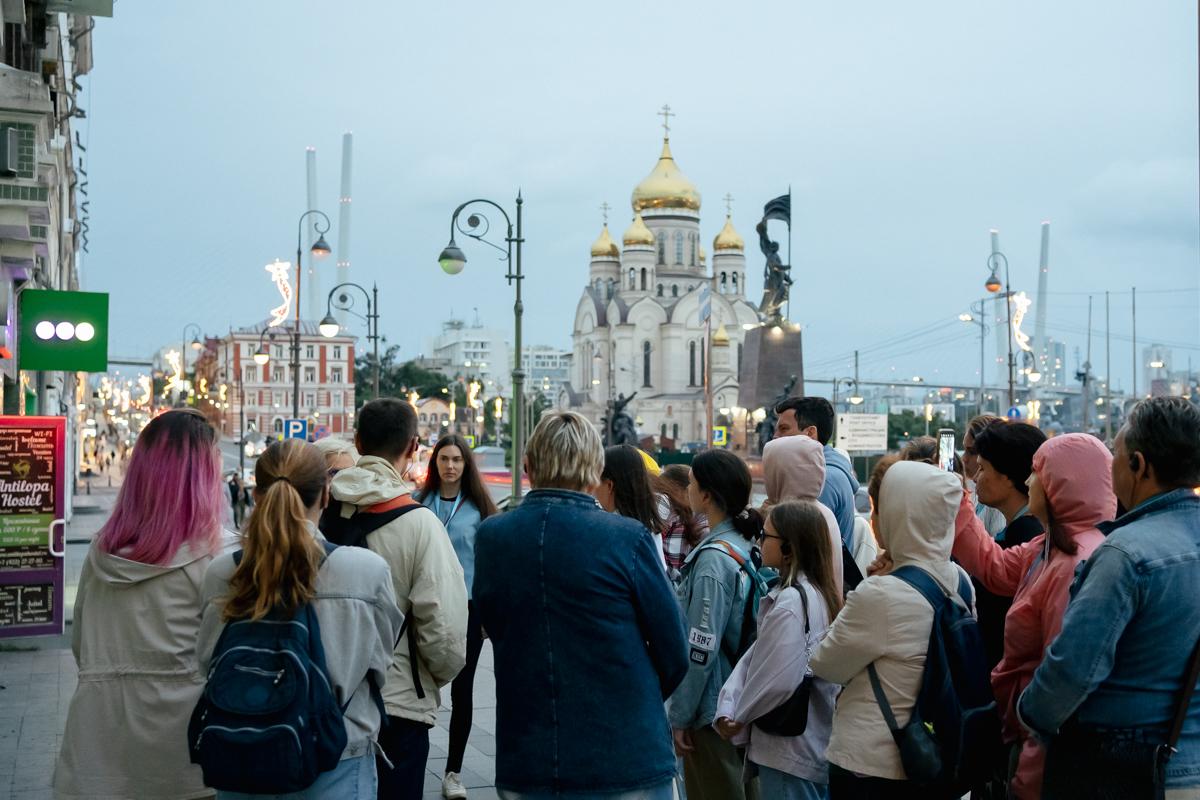 Вечерняя экскурсия по Владивостоку (группа)